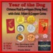 Year of the Dog - Red Envelopes with Coins