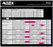 Online Tracker - SLAVTracker