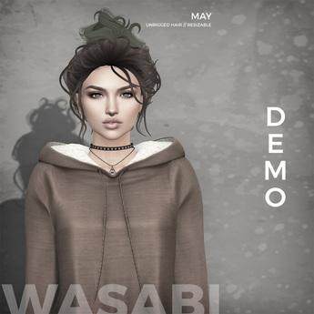 Wasabi // May Mesh Hair - Demo