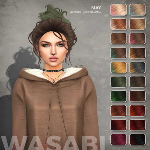 Wasabi // May Mesh Hair - Solar Ombre