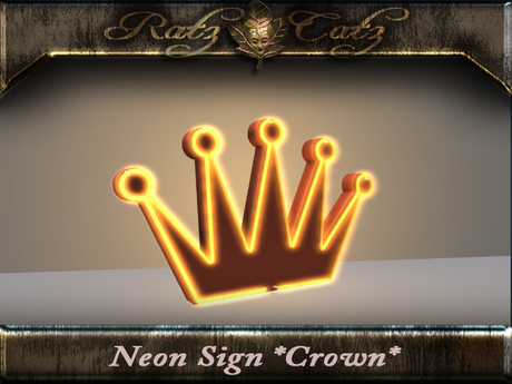 .: RatzCatz :. Neon Sign *Crown*