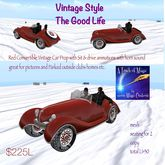 Vintage Car with animations and Horn Prop=crate