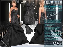 Bella Moda: Abito Principessa Black Princess Gown/Mini-Dress/Shoes for Maitreya/Slink/Classic+Std