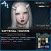 +AH+ Crystal Horns
