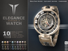**RE** Elegance Series 2 Watch * MESH * (*ReVoX Collection*)