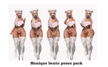 Monique bento poses pack
