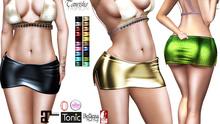 *-*Star-Outlet*-* 1a Skirt (Hud Operated - maitreya, belleza, tonic, ebody, slink, fitmesh, classic)