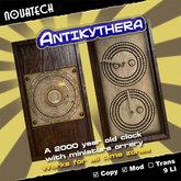 Antikythera Mechanism Clock