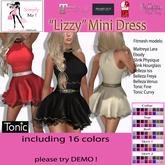 "[Simply Me!] ""Lizzy"" Minidress - Maitreya, Belleza, Slink, Tonic, Ebody"