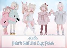 {Blubb} Heart Channel Blog Poses