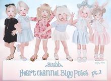 {Blubb} Heart Channel Blog Poses  Pt.2