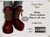 By Hanta - Cool Combat Boots - Dark with HUD