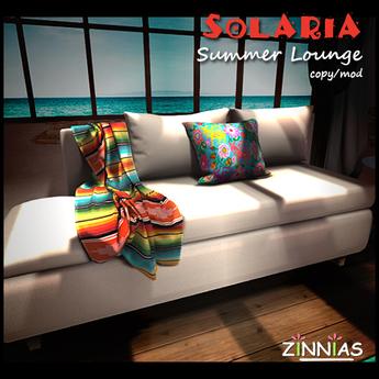 Zinnias Solaria Lounge