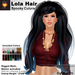 A&A Lola Hair Spooky Colors, long rigged mesh, motion activated