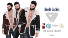 ILLI - [Signature Gianni,Belleza Jake,Physique,TMP,Classic] Suede Jacket (HUD Driven)