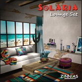Zinnias Solaria Lounge Collection