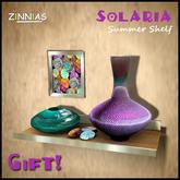 Zinnias Solaria Summer Shelf