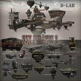 D-LAB SKY PIRATES 2 05 Flying Shrimp B EXCHANGE TICKET