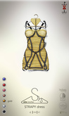 [sYs] STRAPY dress (body mesh) - gold GIFT <3