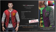 <Kalback> Letterman Jacket M3_Red