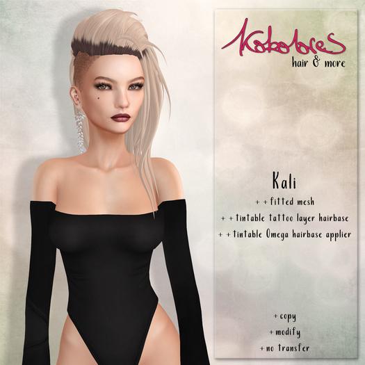 [KoKoLoReS] Hair - Kali ***HUD Naturals***