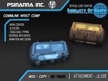 PsiNanna, Inc. CommLink Wrist Computer