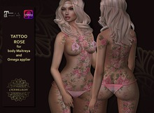 CHAMELEON - Tattoo Rose, Maitreya & OMEGA applier huds