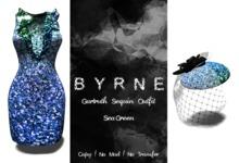 (BYRNE) Gartruth Sequin Dress-SeaGreen