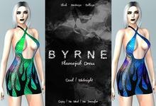 (BYRNE) Flamejob Dress - Cool