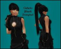 Cabelo Black Ponytail