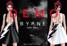 (BYRNE) Zowie Dress & Mask DEMO