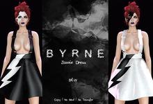 (BYRNE) Zowie Dress - B&W