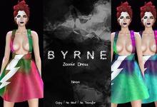 (BYRNE) Zowie Dress - Neon