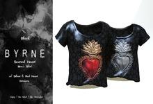 (BYRNE) SacredHeart Mens Shirts-Black