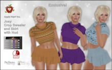 Apple Heart  Inc. Demo Josy Sweater and Skirt with Hud