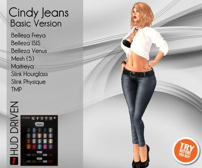 [D2T OUTLET] Cindy Jeans Basic (Unpack HUD)