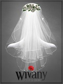 wivany Bridal Veil S-Rose & 12 Rose Color HUD