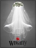 wivany Bridal Veil S-Rose & Veil Texture HUD