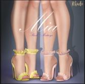 [RHUDE] MIa  Heel  Mini pack 1