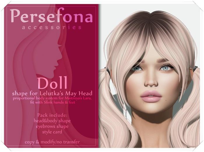 Persefona Doll Shape