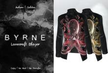 (BYRNE) Lovecraft Blazer-Auburn/Golden