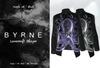 (BYRNE) Lovecraft Blazer-PurpleInk/Black