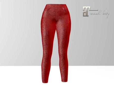 ~PP~ Red Sequin Leggings Maitreya