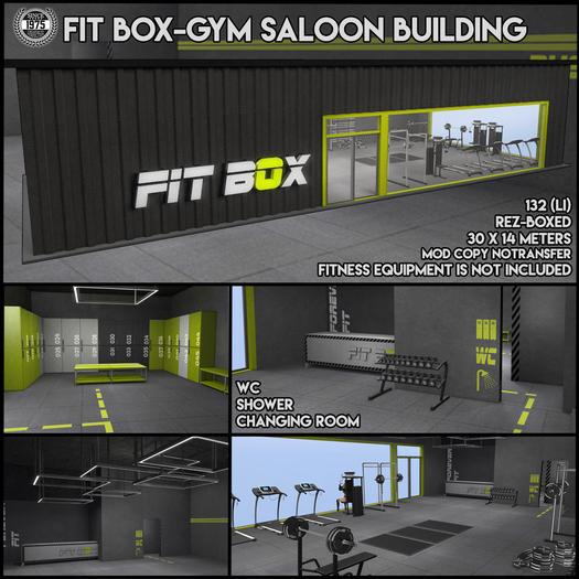 [Since1975] Fit Box / Gym Saloon Building