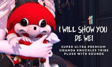 Violent Seduction - UGANDAN KNUCKLES TRIBE PLUSH
