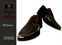GQ DS Bronze, Leather Dress Shoes