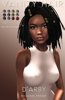 Vanity Hair::D'Arby-Demo Pack