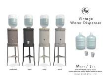 Soy. Vintage Water Dispenser ALLSET [addme]