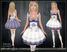 [Wishbox] Alice in Wonderland Costume (Purple) - with Omega Appliers - EGL Pinafore Fairy Tale Gothic Lolita Dress