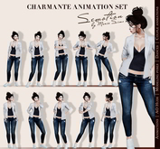 SEmotion Charmante Set  - 10 high quality mocap standing animations